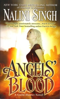 ANGEL'S BLOOD paperback