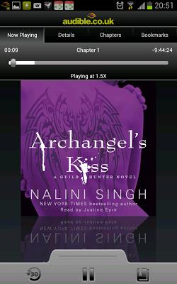 ARCHANGEL'S KISS audiobook