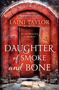Book 1: DAUGHTER OF SMOKE AND BONE paperback (UK 2012)