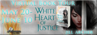 WHITE HEART OF JUSTICE Tour & Giveaway