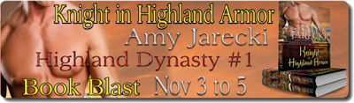 KNIGHT IN HIGHLAND ARMOR Blog Tour & Giveaway banner
